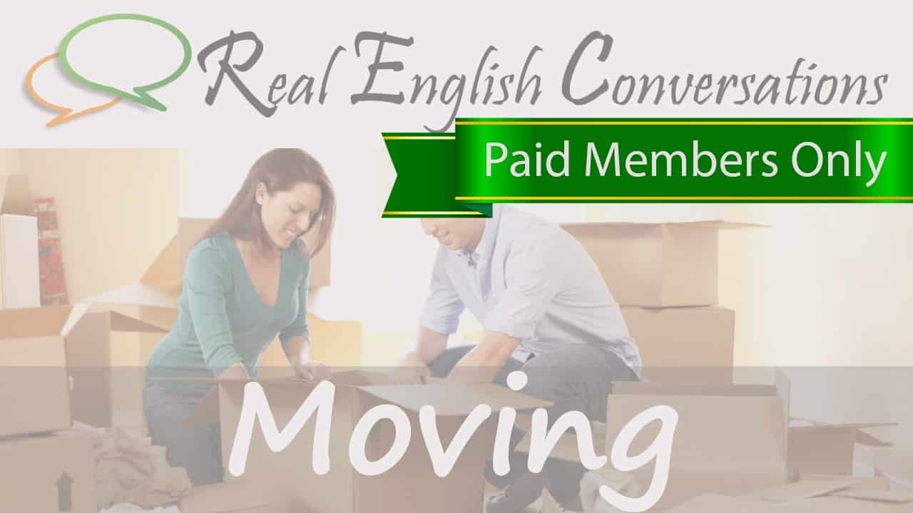 Moving English Conversations mp3