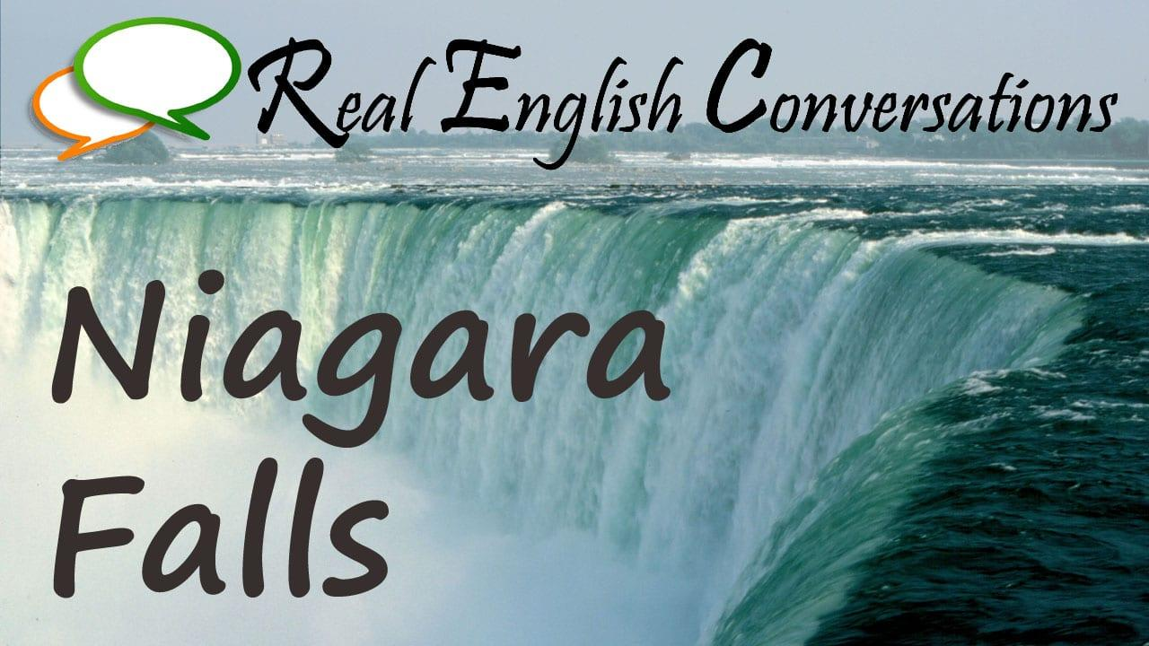 English Podcast Niagara Falls