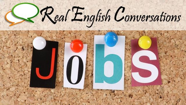 English Conversations for Jobs