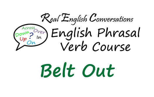 English Phrasal Verbs in Context