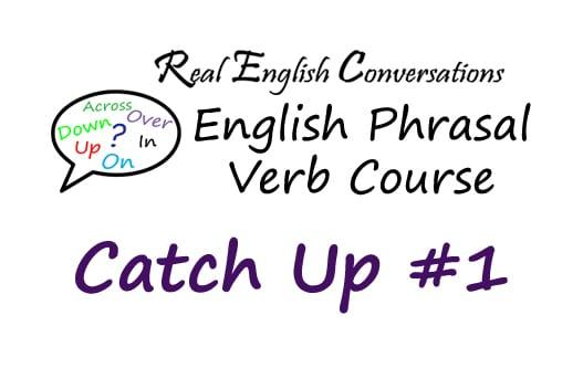 English Phrasal Verbs Course