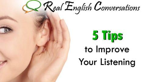 How to Improve English Listening Skills & Comprehension