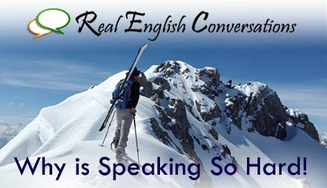 speak better in English