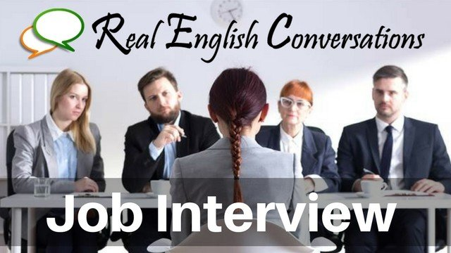 Job Interviews English podcast
