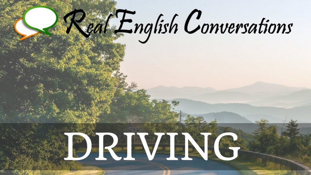 Driving English podcast