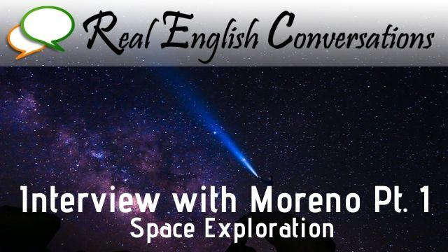 advanced english conversation about space exploration