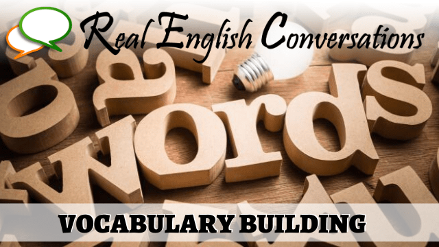 english podcast lesson learn vocabulary