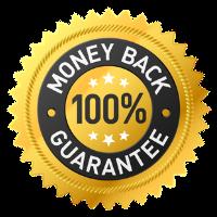 Money Back Guarantee transparent